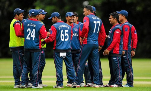 nepal-Cricket-Team