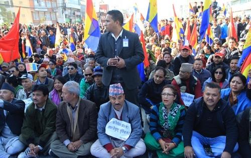 rpp-protest-kamal-thapa-baneshwor-6