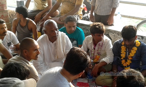 Dharna-at-Gaur