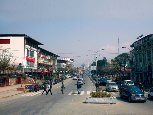 काठमाडौँको दरबारमार्ग जहाँ जमिनको मूल्य नेपालकै सबैभन्दा महँगो छ।