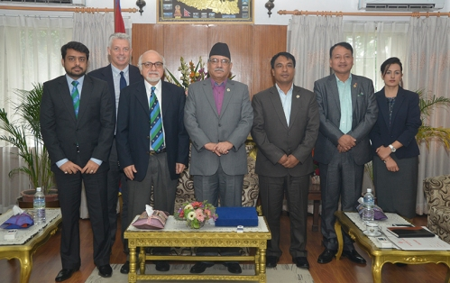 Pm-Prachanda-with-Icc-ceo-David-Richardson