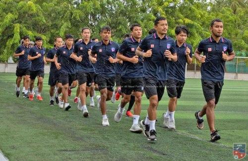 Nepali-Football-team-at-Maldives